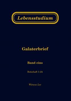 Lebensstudium Galaterbrief (2 Bände)