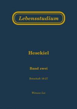 Lebensstudium Hesekiel (2 Bände)
