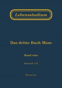 Lebensstudium des dritten Buches Mose (2 Bände)