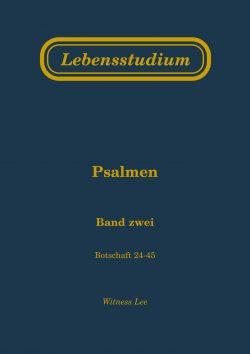 Lebensstudium Psalmen (2 Bände)